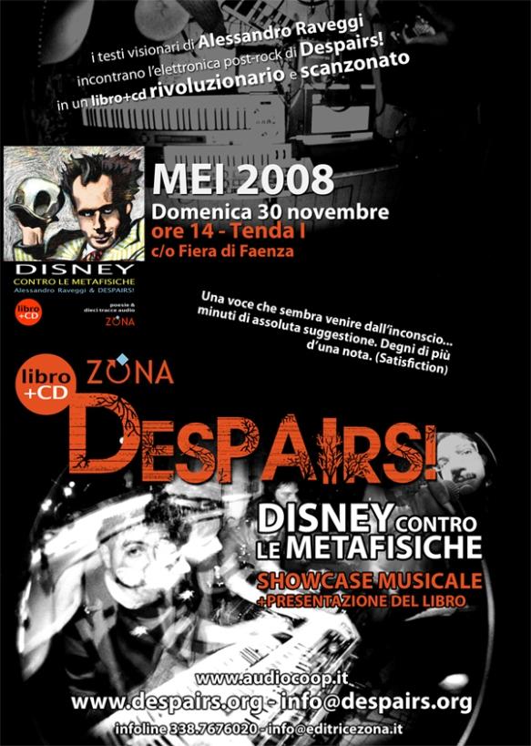Despairs! al MEI - 30 novembre 2008